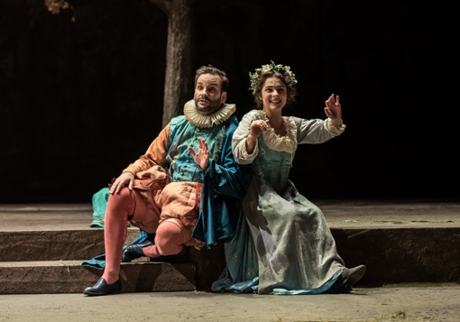 Tomislav Lavoie (Girot) and Magali Simard-Galdès (Nicette) © Clive Barda