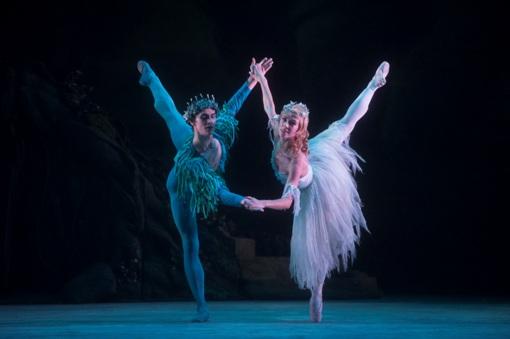 William Bracewell (Oberon) and Natasha Oughtred (Titania), The Dream © Roy Smiljanic (2012)
