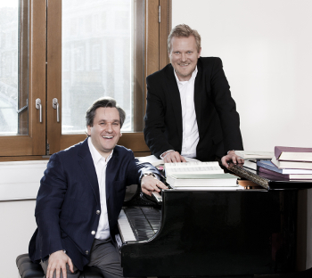 Sir Antonio Pappano and Kasper Holten © Johan Persson