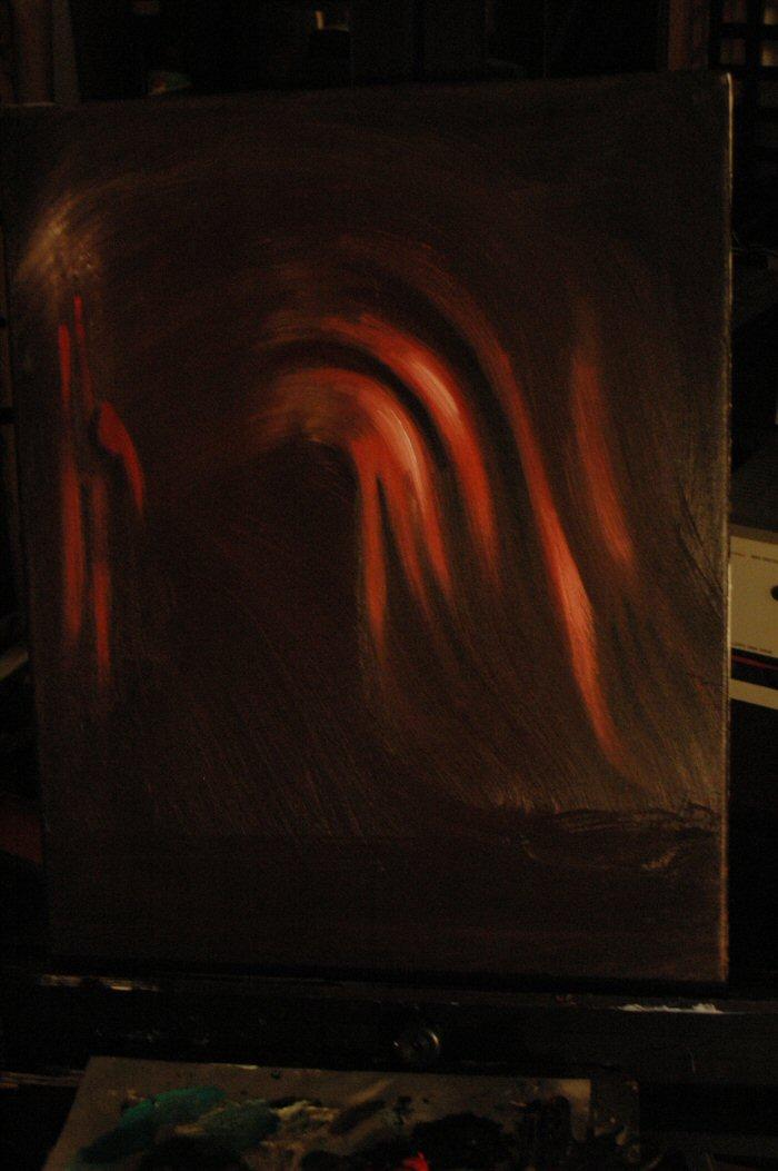 Dancing Partner, Oil on Canvas.