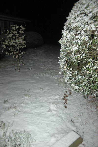 Snow in April!