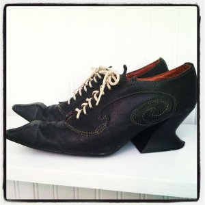 First pair of Fluevogs for inspiration Beckons Yoga Clothing