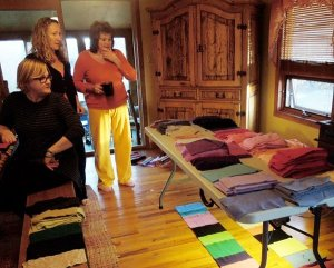beckons yoga clothing cashmere scarf components made-to-order