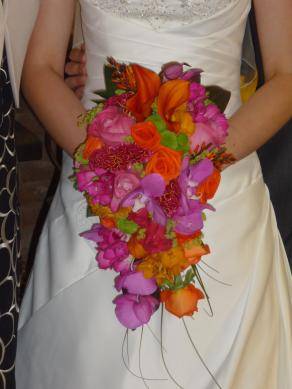 a Beck's Flowers creation