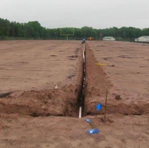 Football Field Irrigation