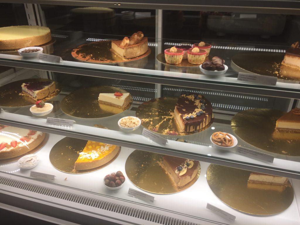 Pollito Cheese cake Store in Bratislava