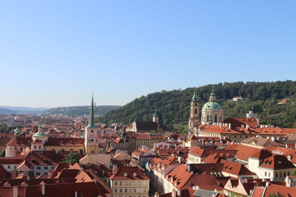Onward travel from Bratislava: Prague in the Czech Republic