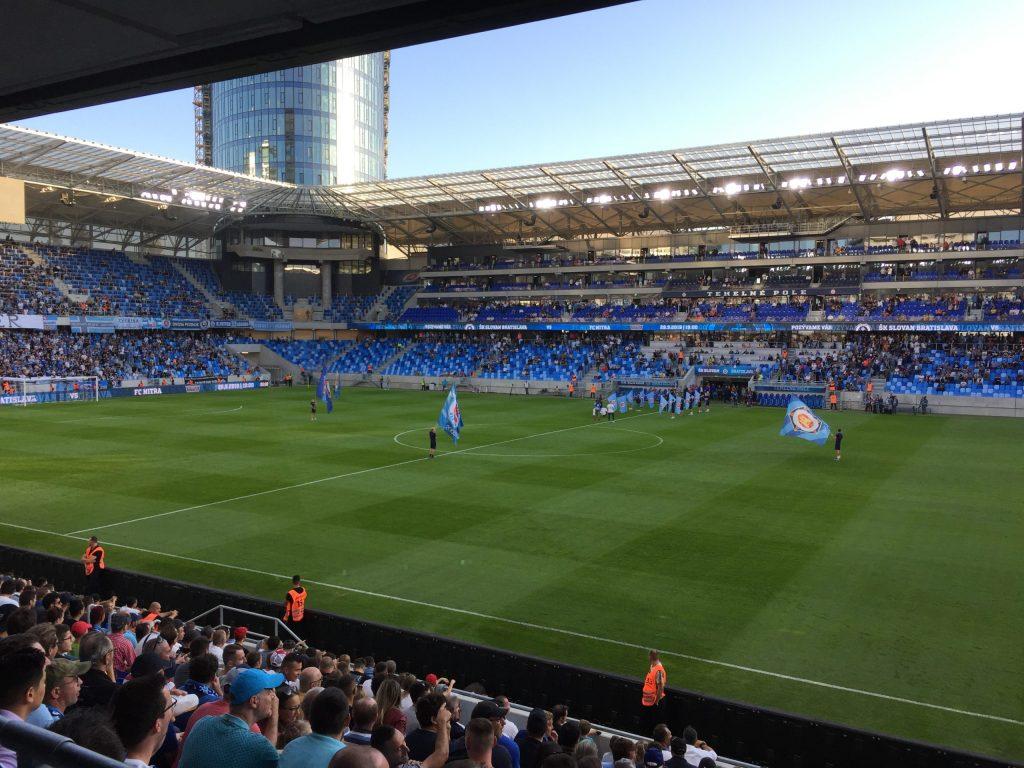 ŠK Slovan Bratislava Football Game