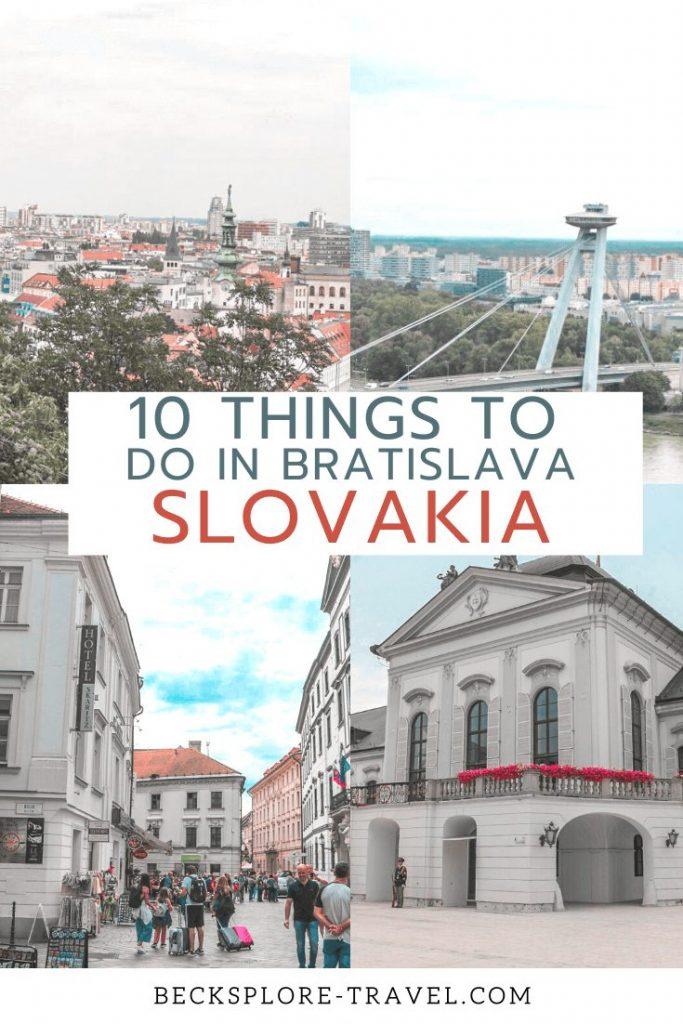 10 Things to do in Bratislava, Slovakia
