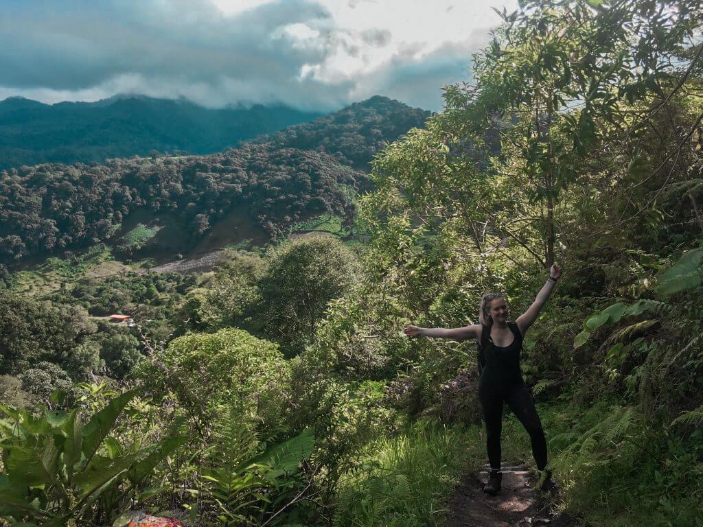 Hiking in Boquete, Panama