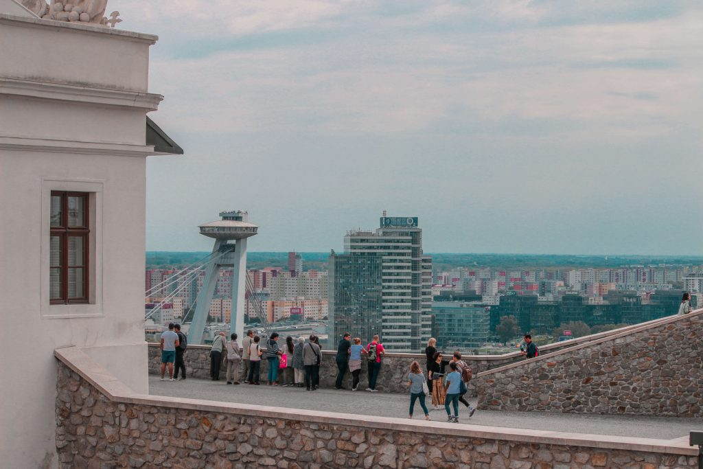 View from the Bratislava castle