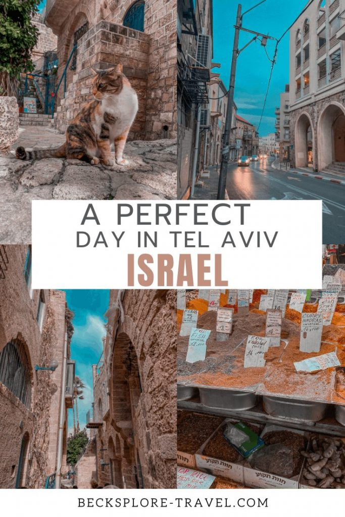 The perfect day in Tel Aviv, Israel