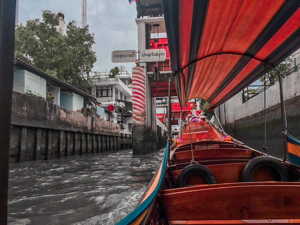 Boat in Bangkok, Thailand