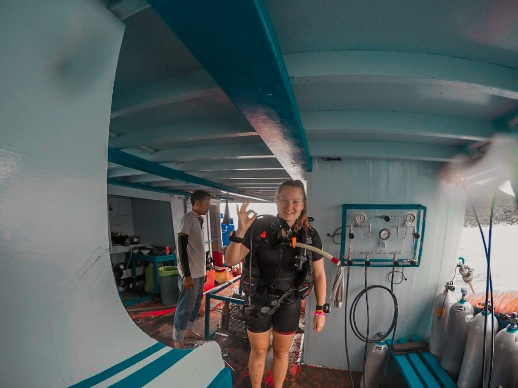 Scuba Diving in Thailand is included in my Thailand Expenses