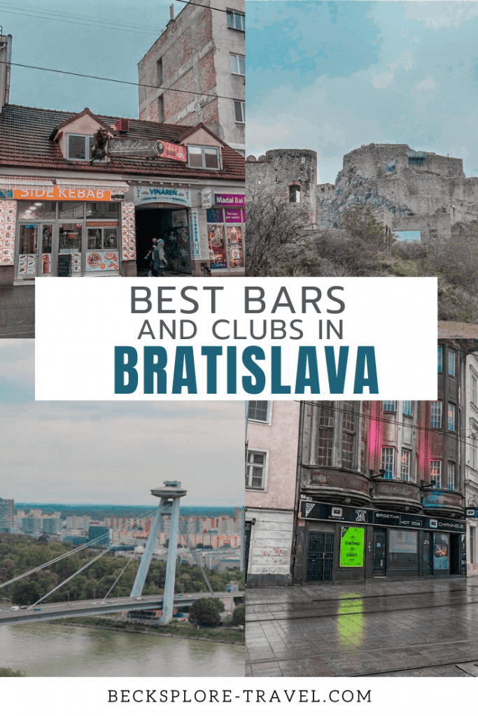 Where to go out in Bratislava? Best bars and clubs in Bratislava, Slovakia #Europe