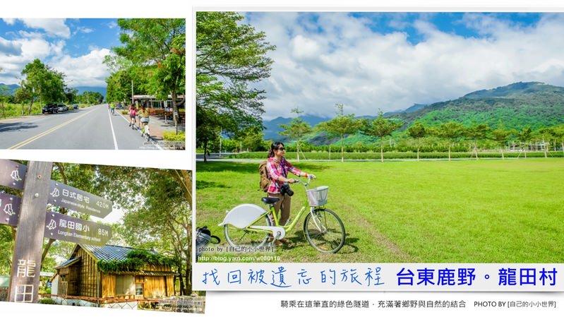【臺東】。找回遺忘的旅程~農村體驗好好玩。[鹿野鄉龍田社區] - [自己的小小世界] 旅遊.攝影