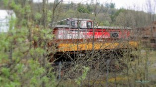 An old caboose!