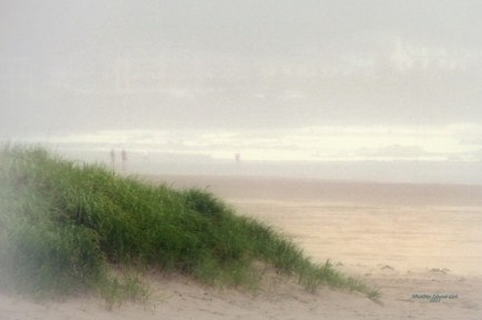 Dramatic beach image...