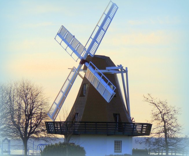 Oak Harbor's Windmill: Three awards won for day, week and month of January...