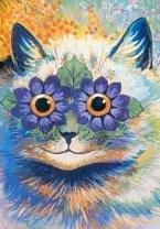 Flower Power Cat