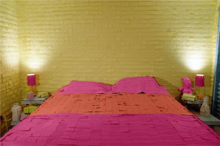 What a lovely pink duvet