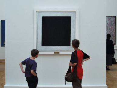 With the absence of a physical presence, the viewer has an emotional response