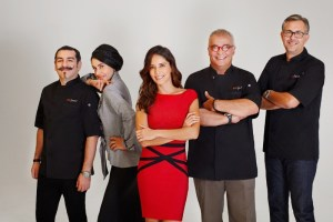 Top Chef México host and judges