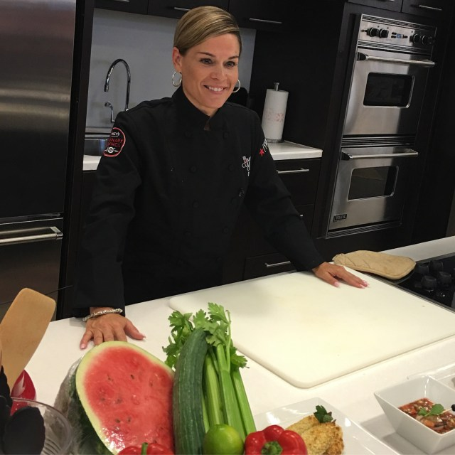 Macys and Chef Cat Cora6
