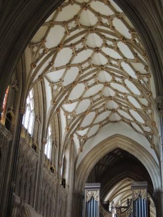 Choir ceiling