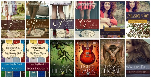 Becky Doughty Books Summer Sale