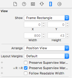 Xcode Table View Cell Layout Margins