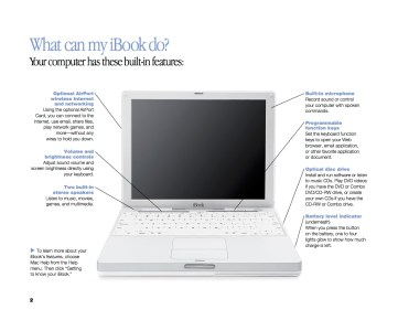 Page from iBook Users Guide