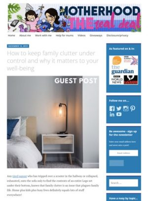 Family clutter cover image