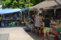 food market. all the fruits, veggies and meat you could ask for!