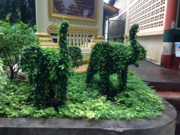 i love thailand is covered in topiaries