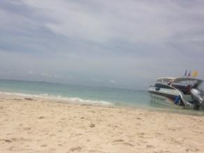 our lunch beach