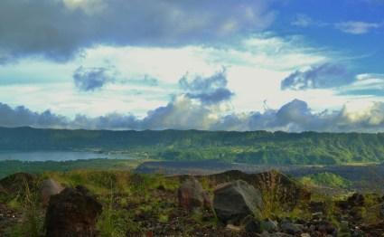 on top of Mt. Batur