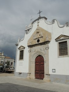 The church in the main square.  I don't recall those black clouds though!