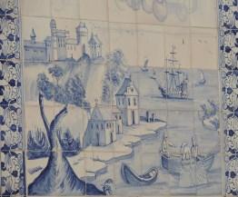 Tiles at sea