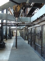 rear of boiler room