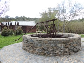 A working model (without the well) at Alcoutim