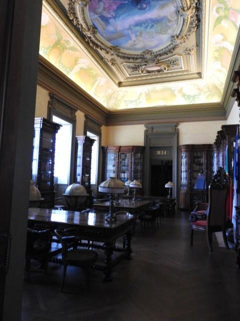 Library at entrance