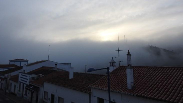 Foggy morning in Mertola