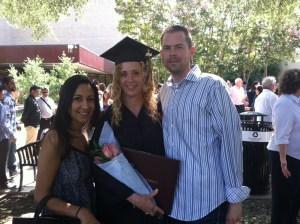 Becky David Selena - Graduation