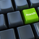 Keyboard with search button