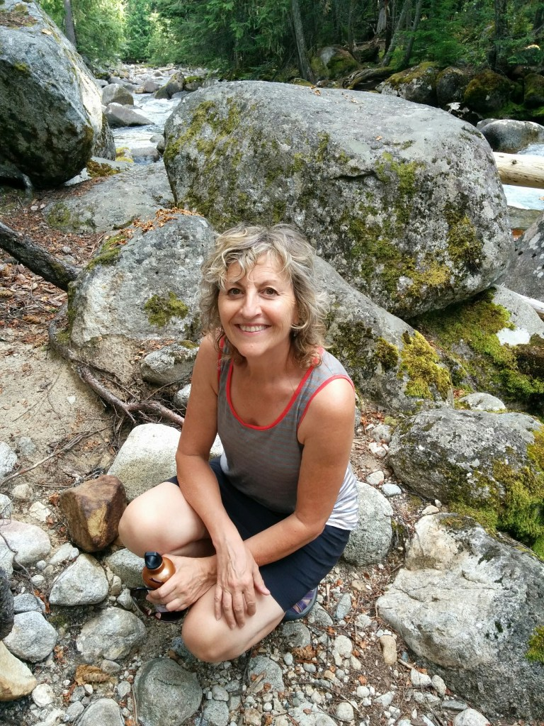 Author Becky Livingston at Kokanee Creek
