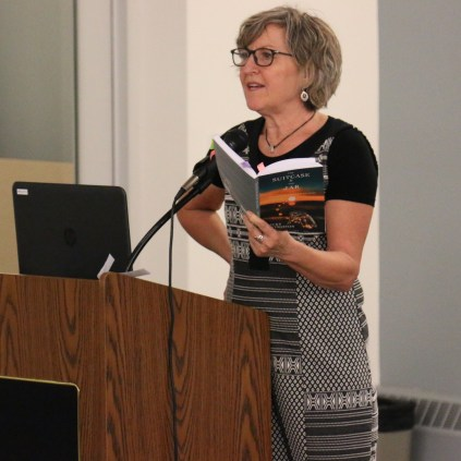 Becky Livingston author of The Suitcase and the Jar