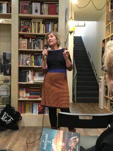 Becky Livingston at Massy Books
