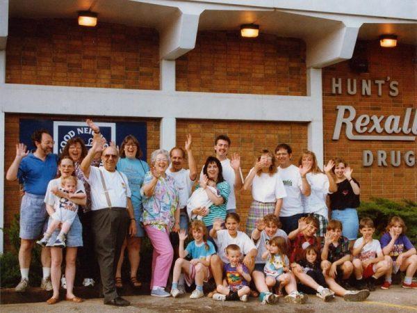 Saying goodbye to Hunt's