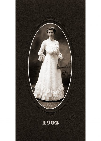 Gertrude Altha Shimp, 1902 Born 1881, Died 1970